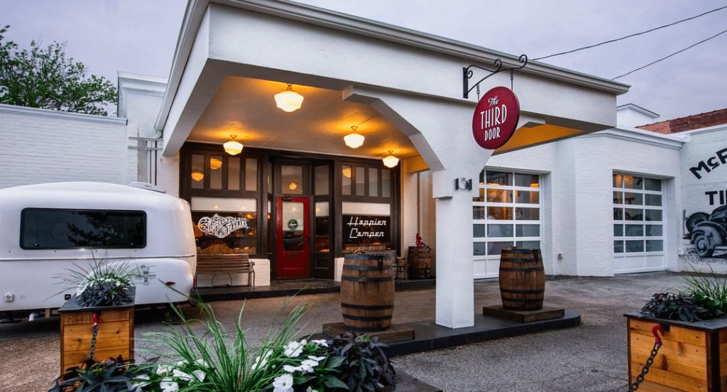 Prohibition-Style Speakeasy Takes Over Renovated 1920s Gas Station