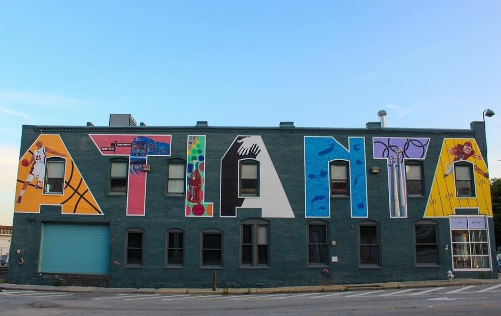 A Guide To Atlanta's Beautiful Street Art
