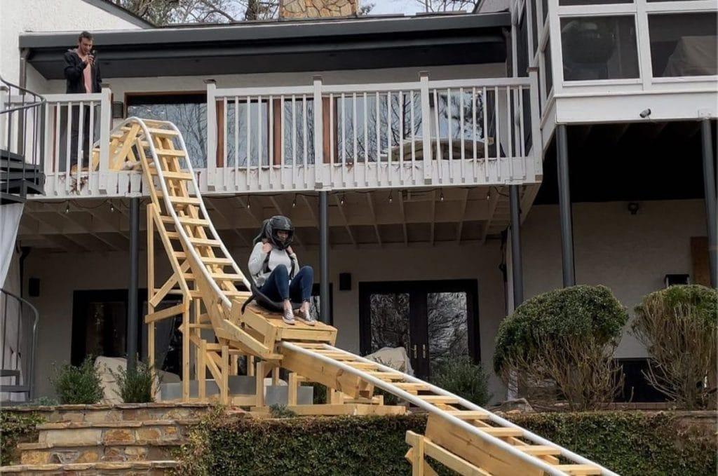 Insane Backyard Coaster Helps Sandy Springs TikToker Reach 100K Followers