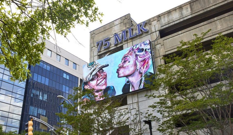 Outdoor Digital Exhibit Celebrating Atlantan Artists Is Scattered Across Downtown Atlanta
