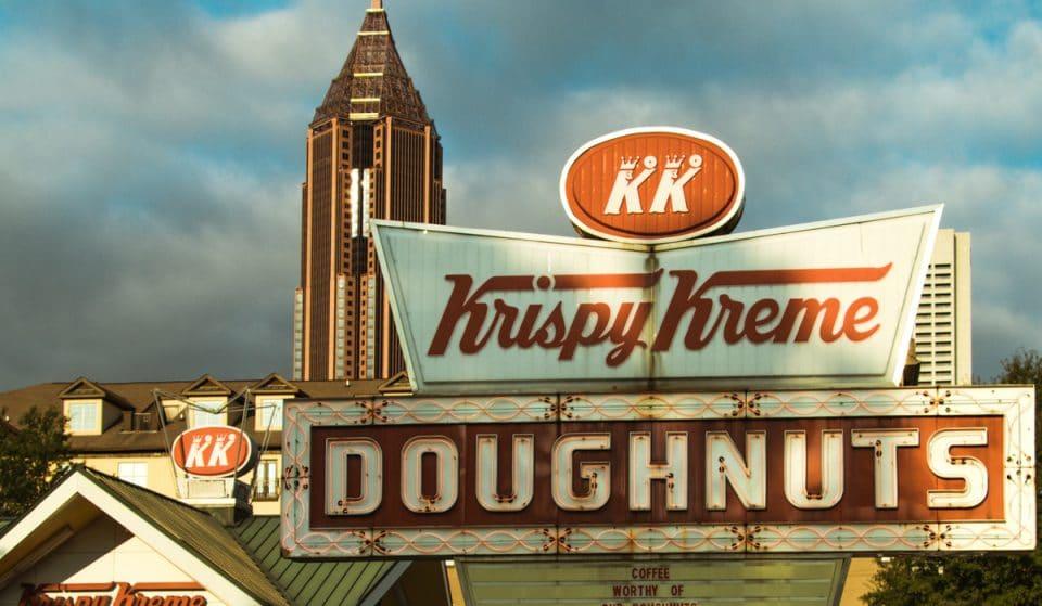 Historic ATL Krispy Kreme To Be Demolished, But Rebuild Is In The Works!