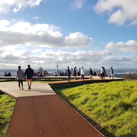 The Grand Maungawhau/Mount Eden Summit Boardwalk Has Opened Up In Auckland So It's Time To Get Walking