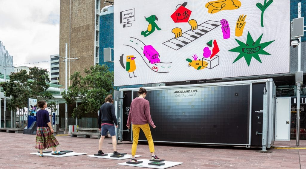 A Free Interactive Sound Experience Is Filling Aotea Square This Summer • Aotea Symphony