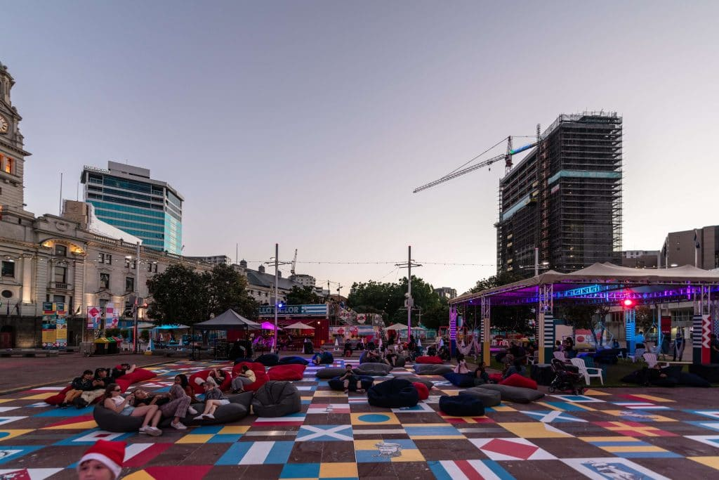 You Can Catch Free Film Screenings And Live Music At Auckland Summer In The Square