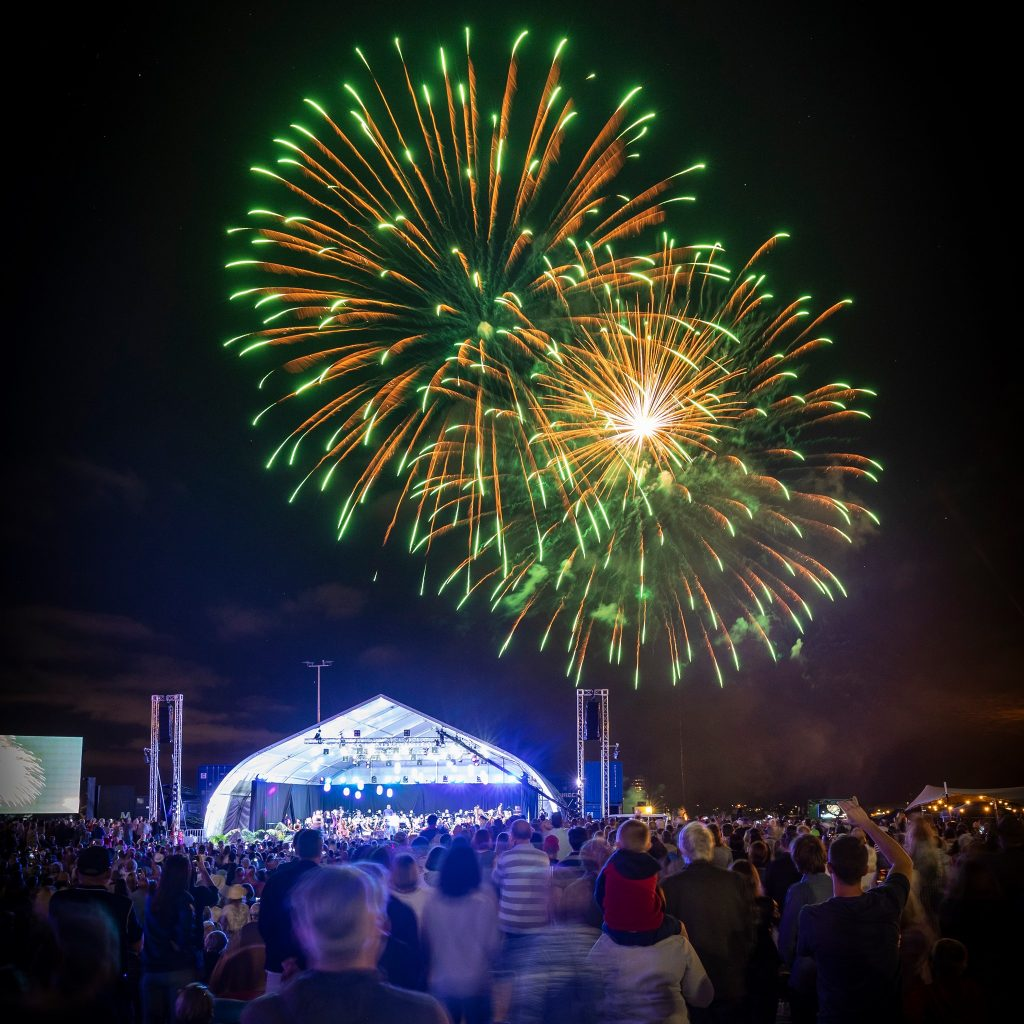 A Free Evening Of Music And Fireworks Is Hitting Auckland This Weekend