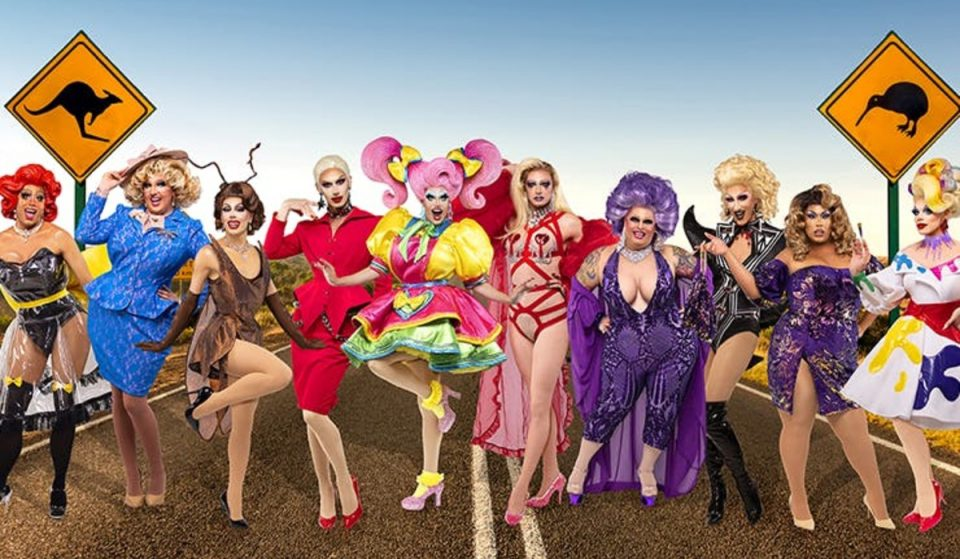 RuPaul's Drag Race Queens Are Coming To Auckland For A Live Show This Year