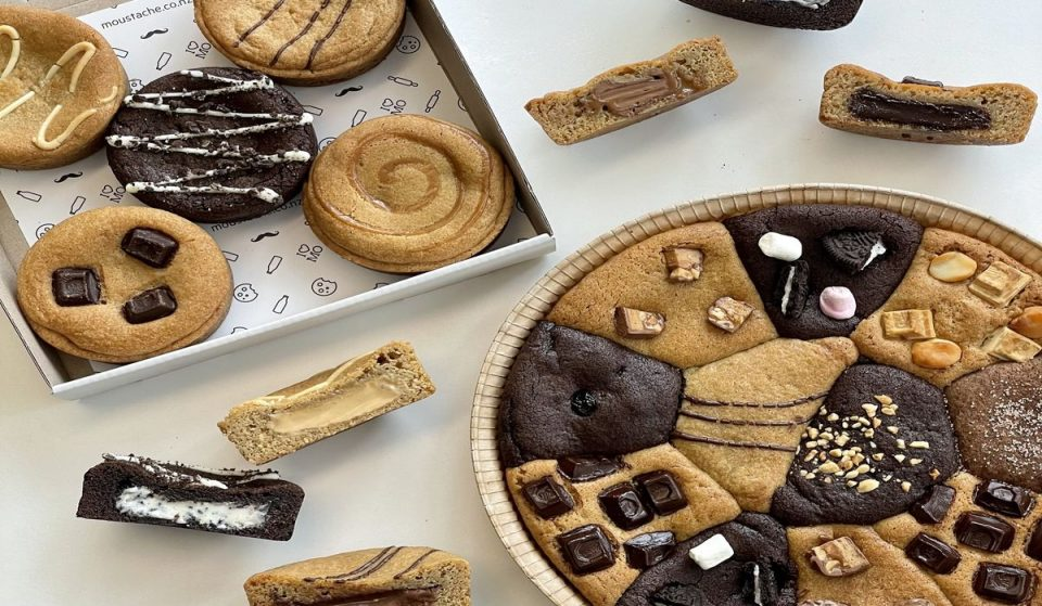 You Can Get Huge Cookie Pies Delivered To Your Home From Moustache
