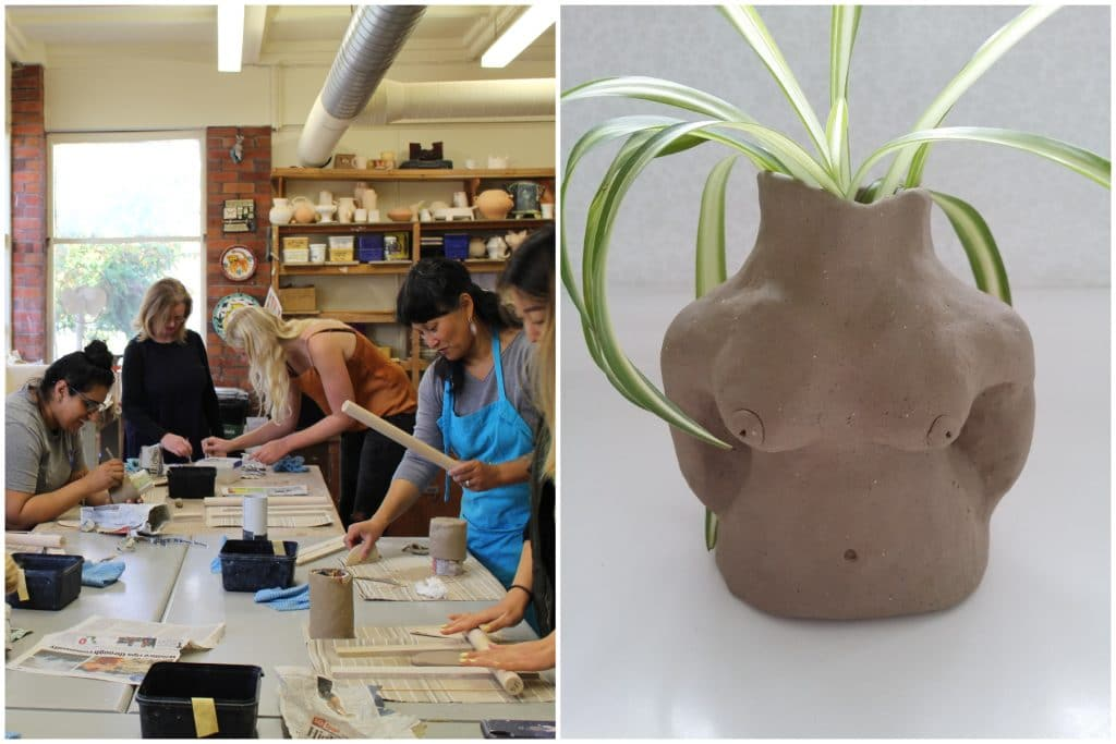 Support Breast Cancer Awareness At This Pottery Workshop And Make Your Own Busty Planter