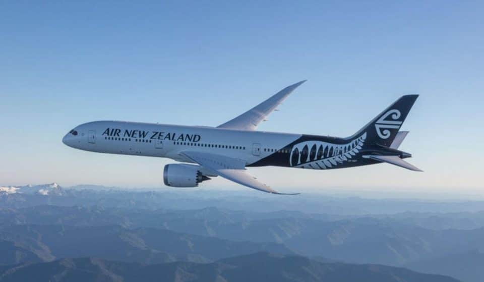 Aucklanders Are Getting Vaxxed On An Air New Zealand Plane This Weekend