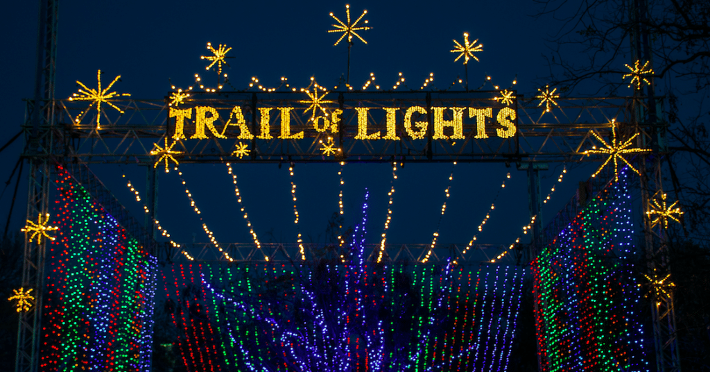 Trail Of Lights Will Return This Holiday Season As A Drive-Thru Event