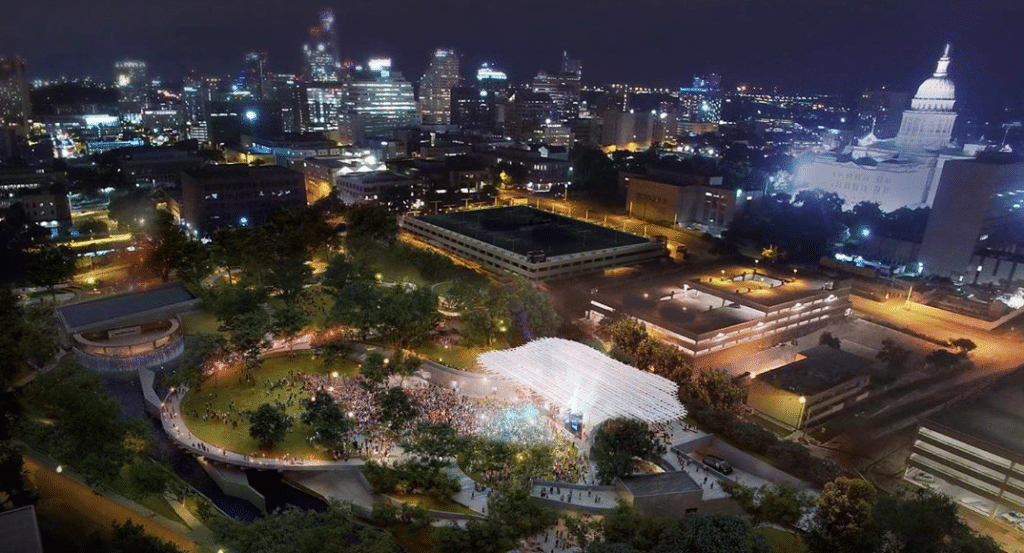 Get A Sneak-Peek Of The New Waterloo Park And Incandescent Moody Amphitheater