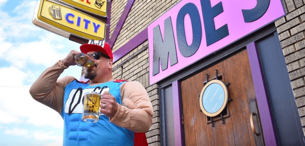'The Simpsons' Moe's Tavern Pop-Up Returns To Austin This Halloween Weekend