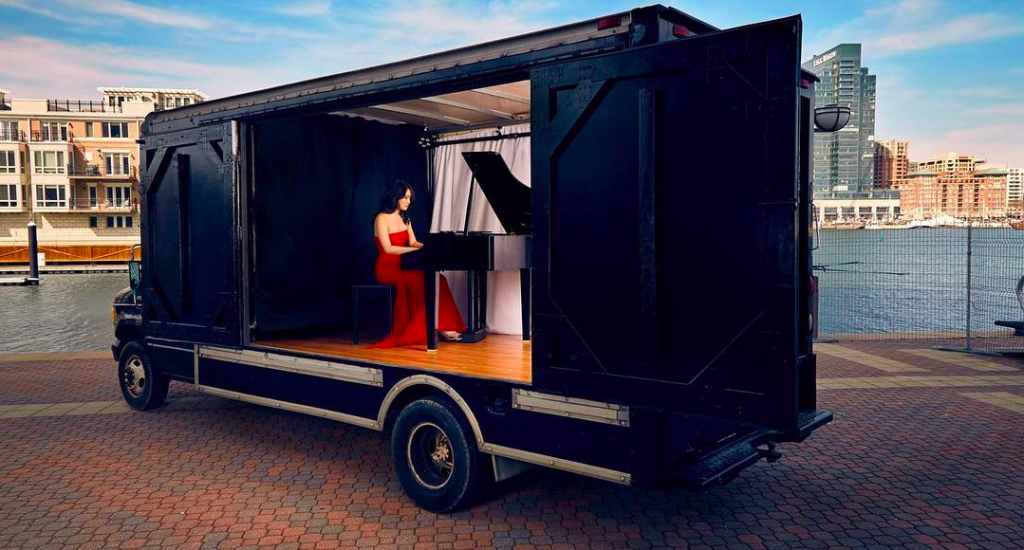 This Concert Truck Is Touring The Streets Of Dallas This Month