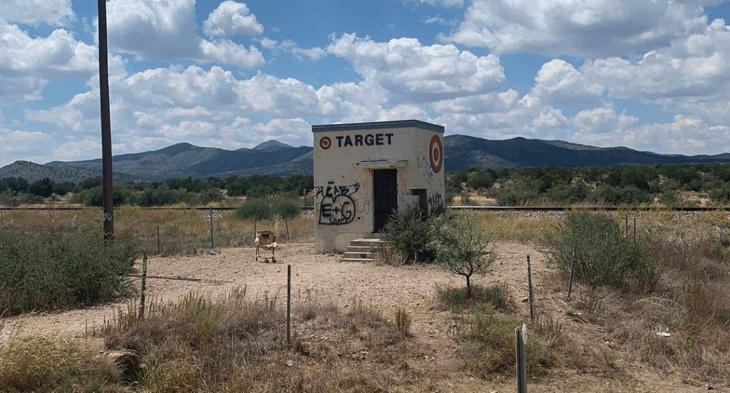 The Tiny Target In Marathon, Texas Has Been Destroyed
