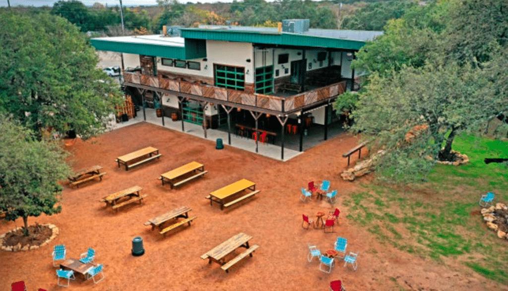 Spacious New Patio Hangout Opens In South Austin • Armadillo Den