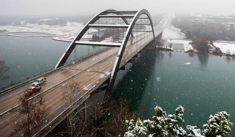 10 Breathtaking Photos Of Austin Blanketed In Snow