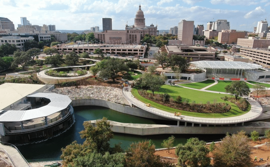 Austin's New Waterloo Park Is Set To Be Completed This Spring: Here's A First Look