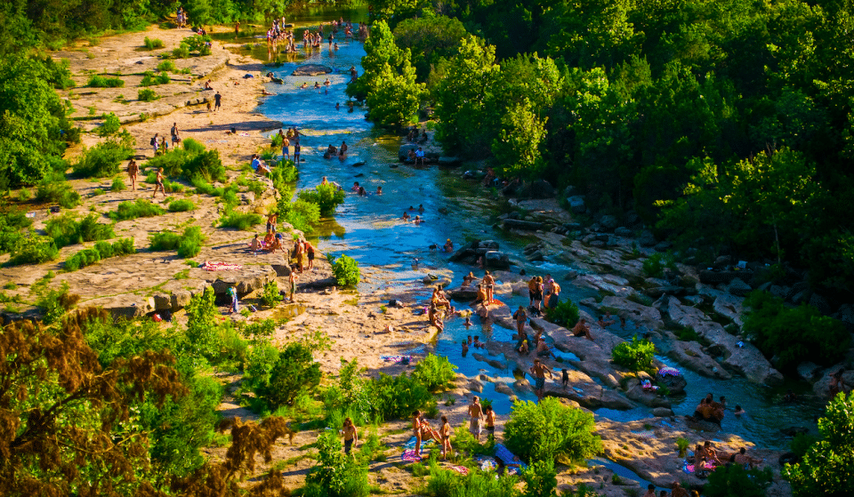 Barton Springs And Deep Eddy Pool Are Now Open
