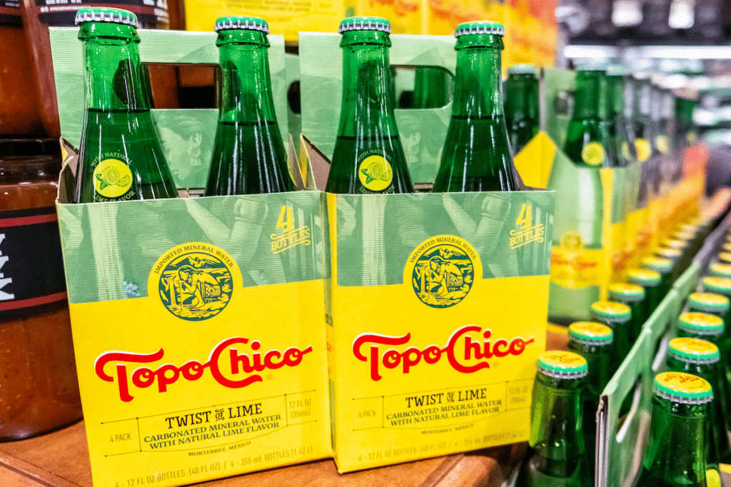 Topo Chico To Debut Its Tropical Hard Seltzer In US Next Week