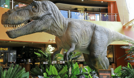 A Massive 'Jurassic World' Exhibition Is Thundering Into Texas This June