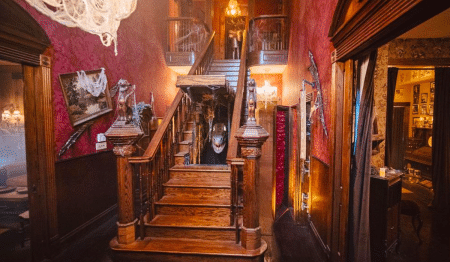 Channel 'The Addams Family' At This Spooky Monster Mansion In Texas