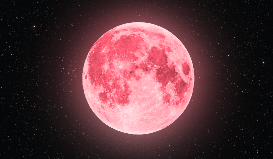 A 'Super Pink Moon' Will Shine Big And Bright In Texas Skies Tonight