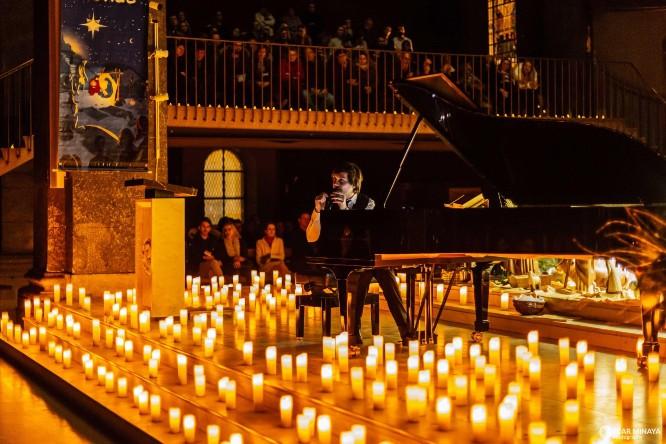 Klassische Musik bei Kerzenlicht in der Zionskirche