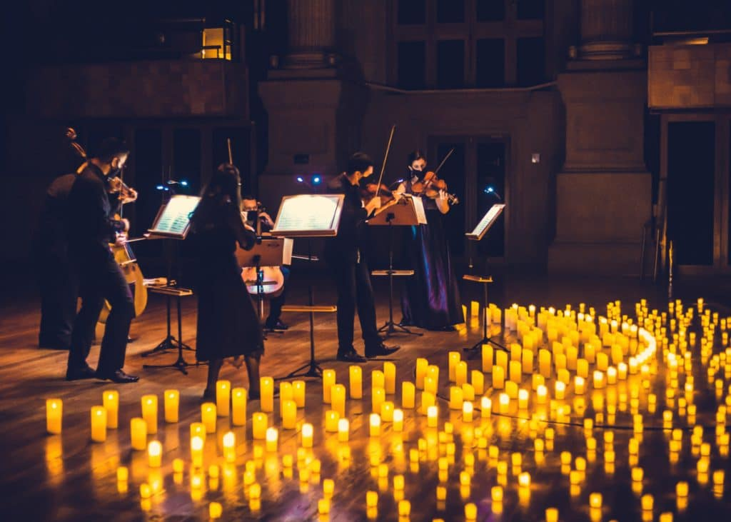 Die Magie der klassischen Musik im Kerzenlicht kommt bald nach Berlin zurück