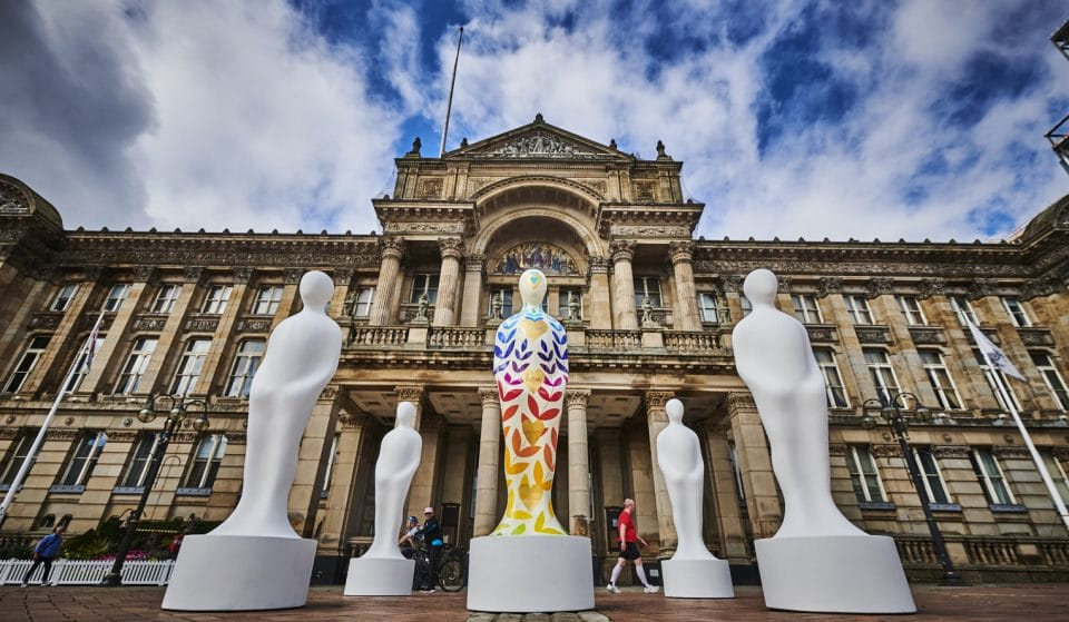 A New Art Installation To Show Thanks To NHS Has Arrived In Birmingham This Month