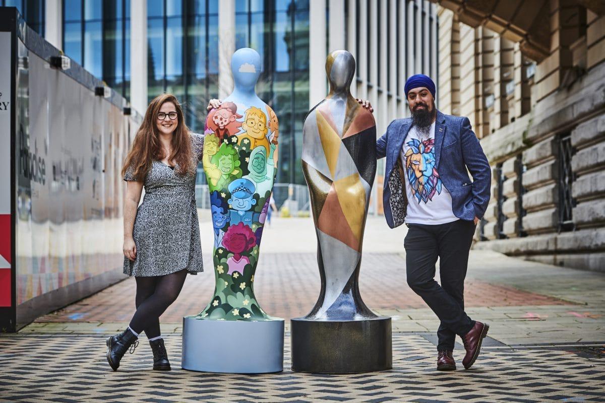Wild In Art Gratitude Birmingham artists sculptures