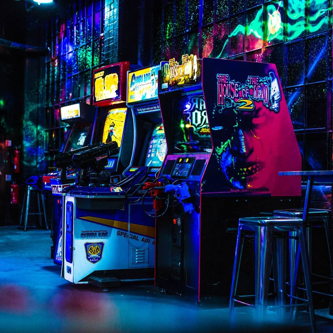 nq64 birmingham arcade games