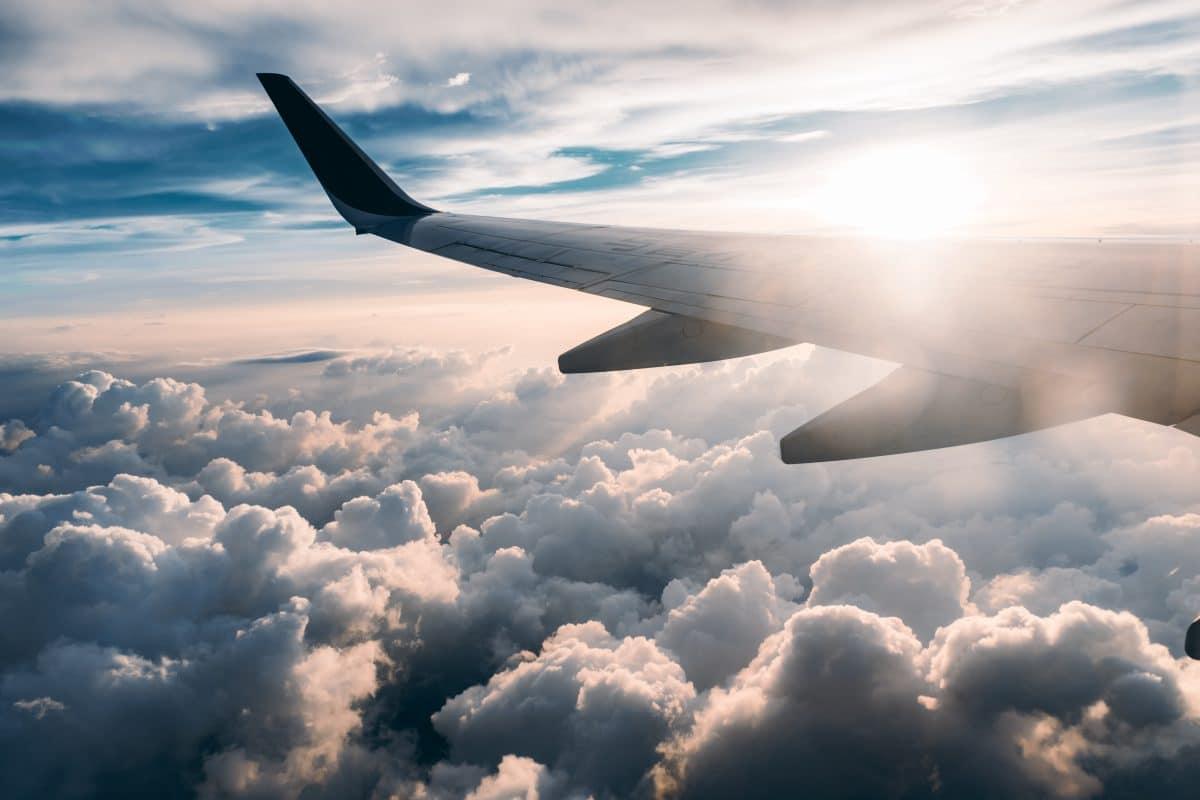 flight plane clouds