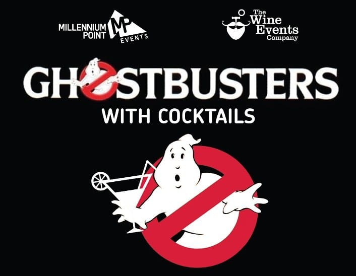 ghostbusters wine events millennium point