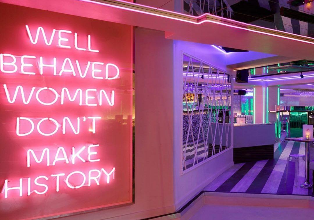 tonight josephine neon sign
