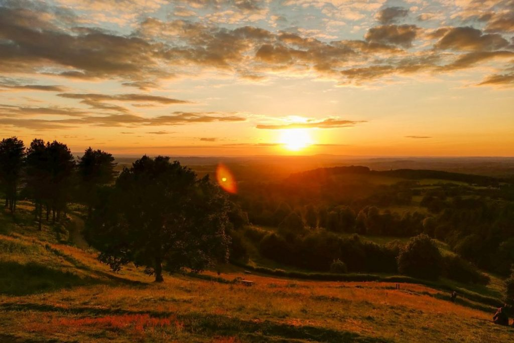 best walks birmingham clent hills