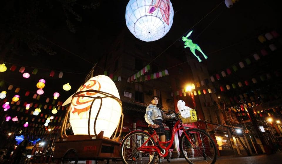 A Magical Lantern Display Is Coming To Birmingham's Chinatown