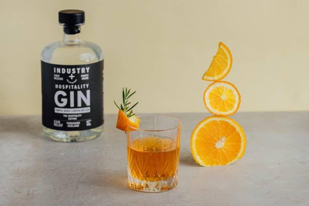 hospitality gin orange