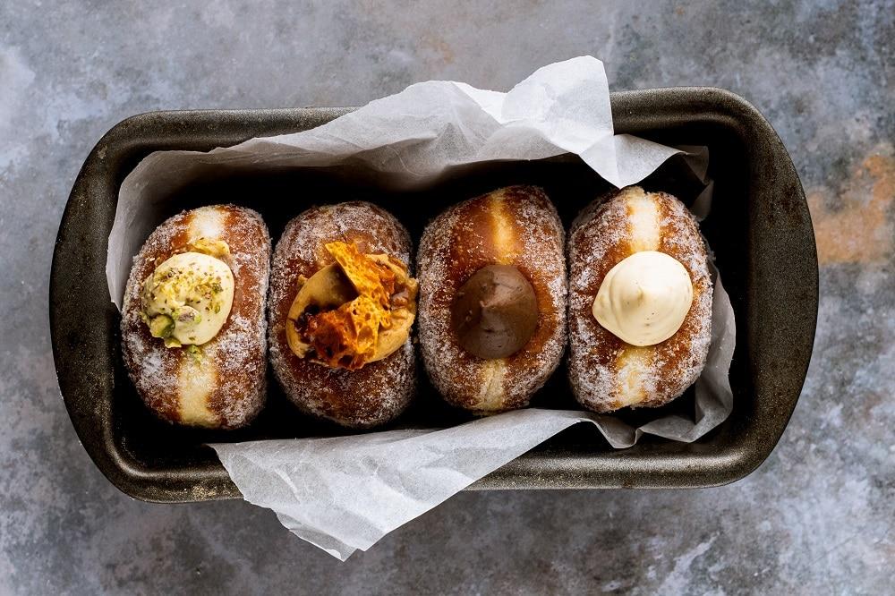 Bread-Ahead-doughnuts-gingerbread-house