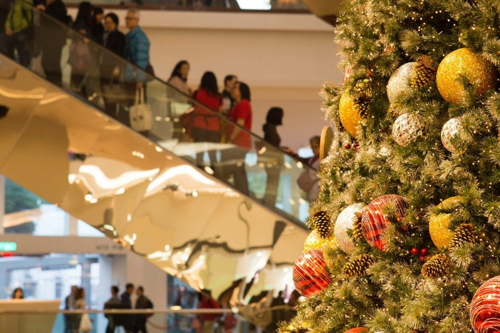 birmingham christmas shopping centre