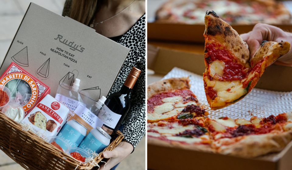 Rudy's Has Created The Perfect Christmas Hamper For Pizza Lovers