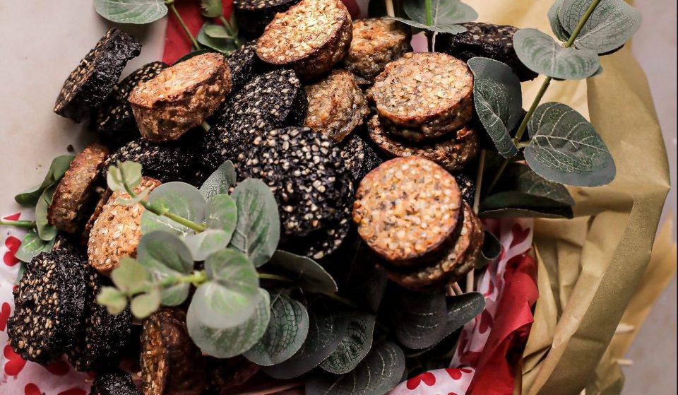 You Can Now Give That Special Someone A Black Pudding Bouquet For Valentine's Day