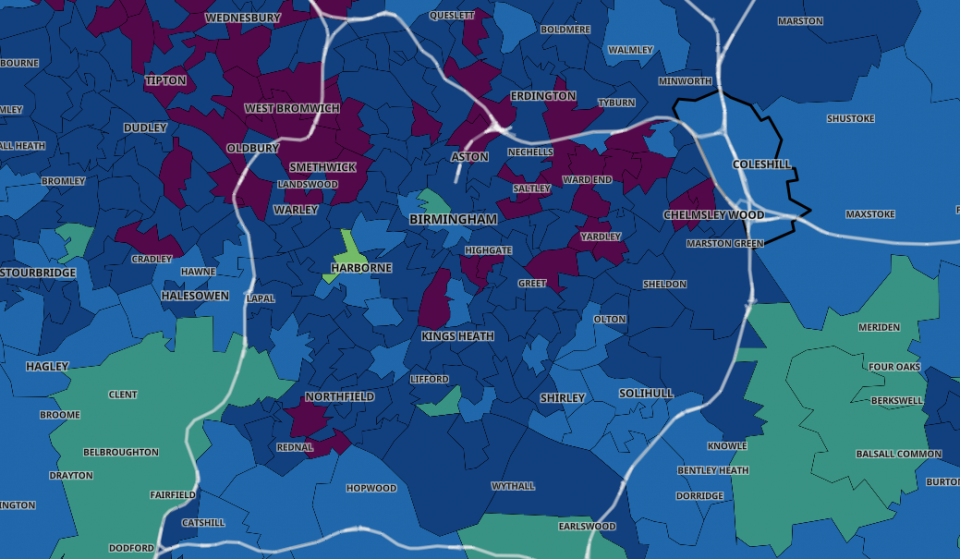 This Interactive Map Shows All Active Covid Cases In The UK By Postcode