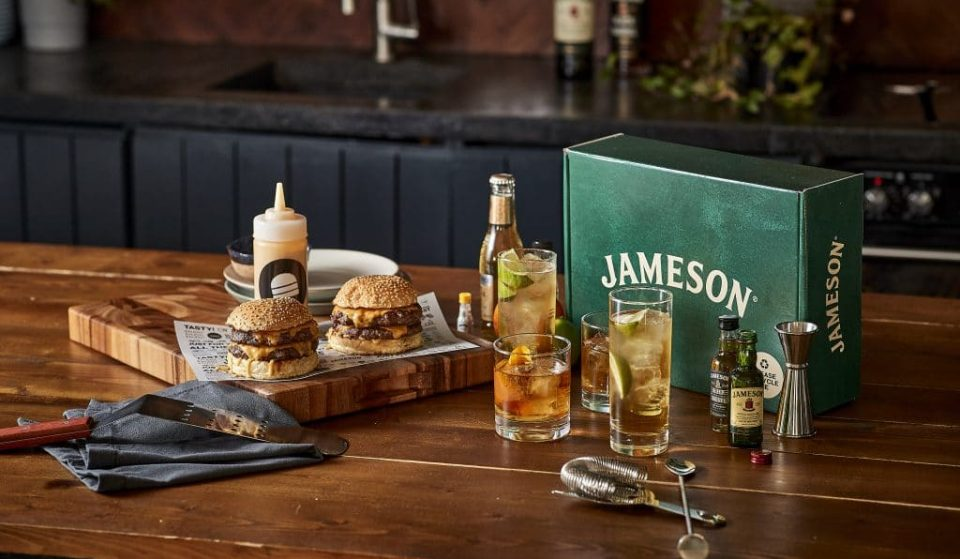 Join Jameson & Bleecker Burger For A Brilliant Virtual Food & Cocktail Workshop