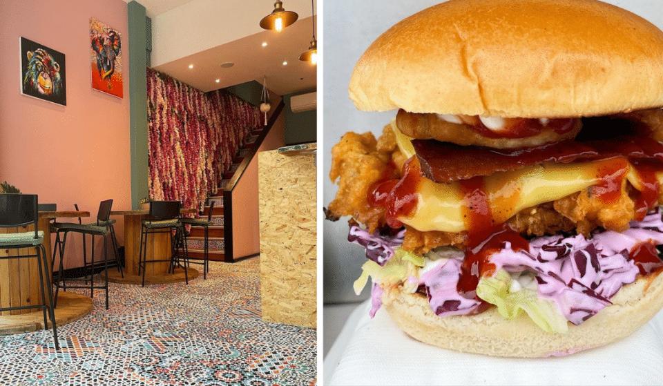 A New Drool-Worthy Vegan Junk Food Restaurant Has Opened In This Birmingham Arcade