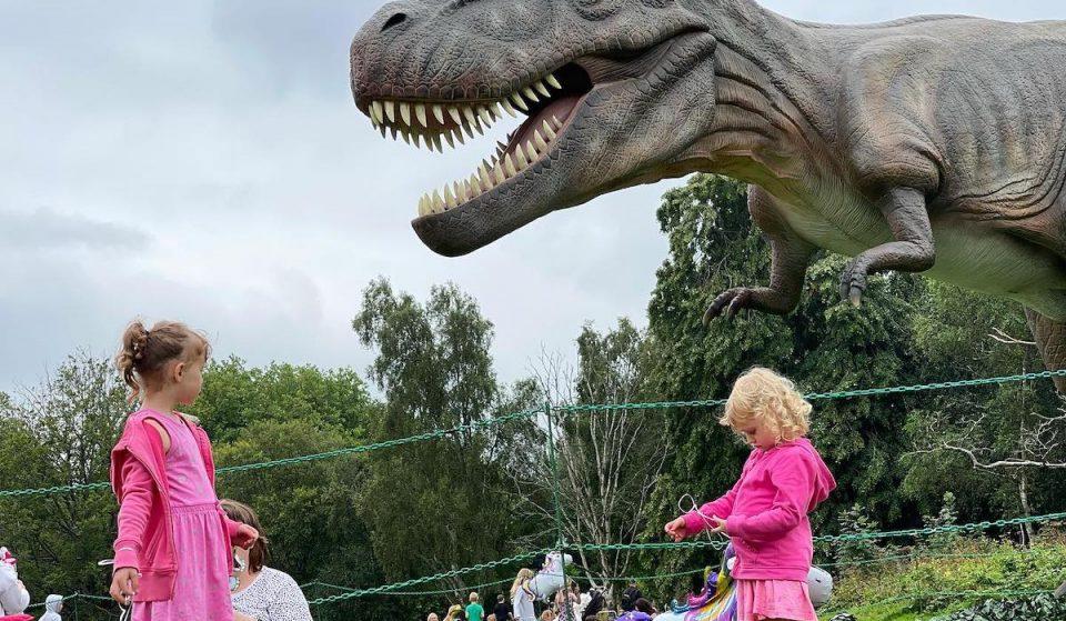 Dinosaurs Will Be Roaming Birmingham's Botanical Gardens This Autumn