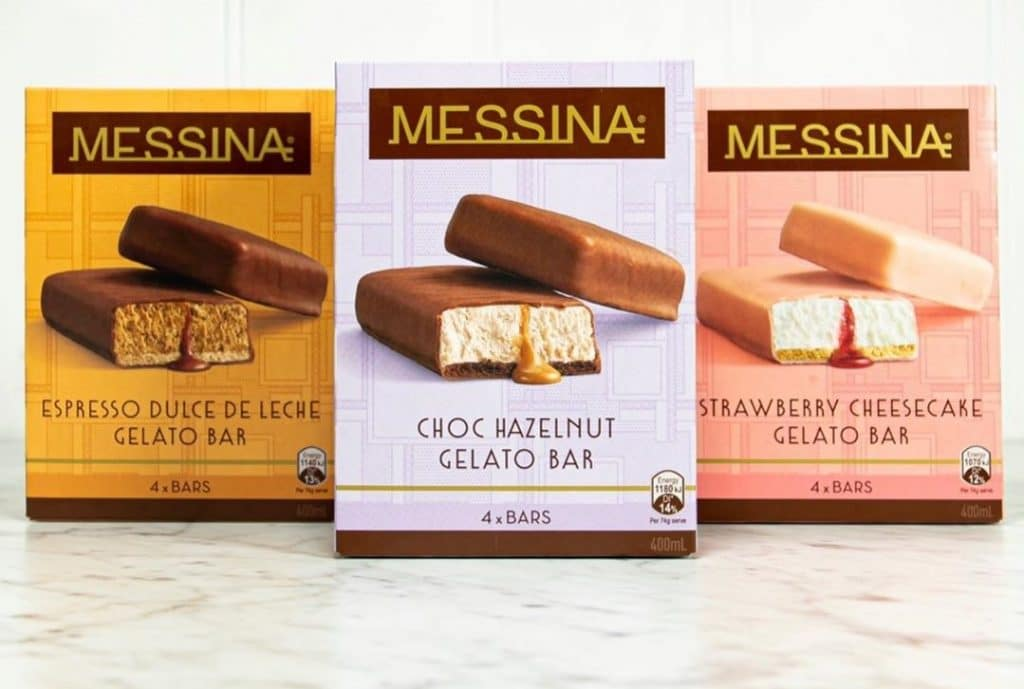 Messina Gelato Bars Have Hit Supermarkets Across Australia And They Are Here To Stay