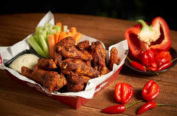 Summer Has Just Gotten A Whole Lot Saucier With This Three-Month Chicken Wing Festival
