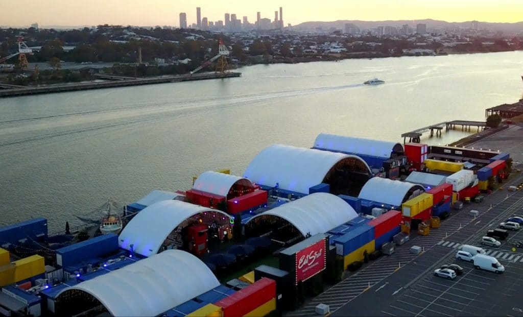 Brisbane's Favourite Foodie Paradise Is A World Of Food In Shipping Containers · Eat Street Northshore