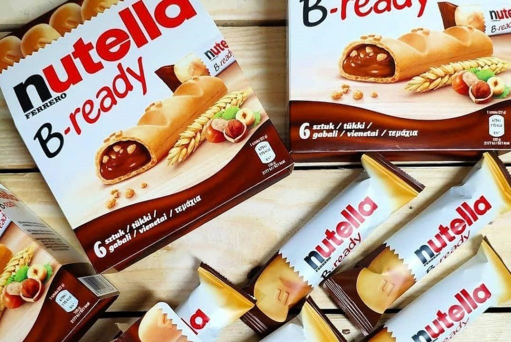 You Can Now Get Nutella's B-Ready Chocolate Bars Australia-Wide