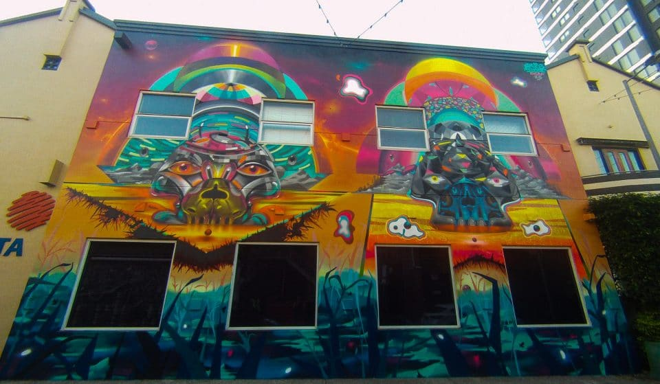 The Brisbane Street Art Festival Is Underway With Murals, Parties, Workshops And Artist Talks